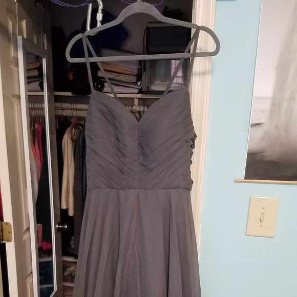 Dresses & Skirts - Never Worn Stunning Gray Bridesmaid dress